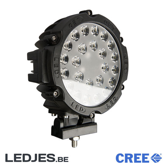 Betere LED VERSTRALER ROND 72 WATT – LED voor Auto, motor, truck en meer UV-74